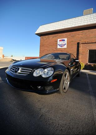 Mercedes SL55 AMG At Integrity First