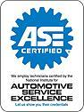 ASE Certified Technicians on-staff